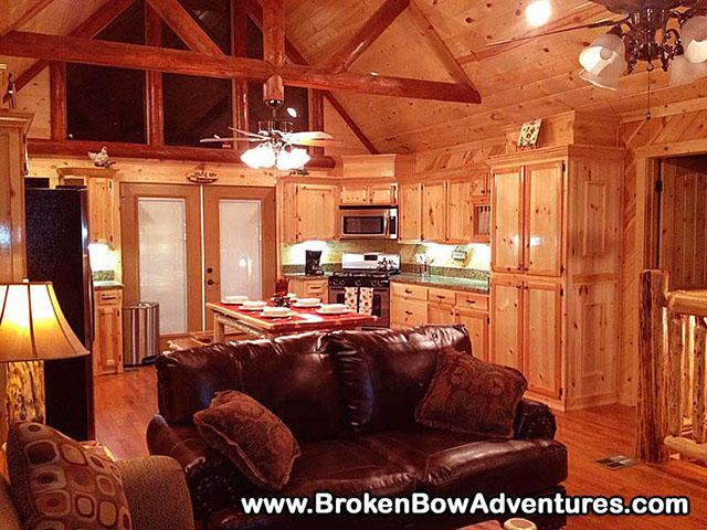 Broken Bow Beavers Bend Ok Luxury Log Cabin Hilltop